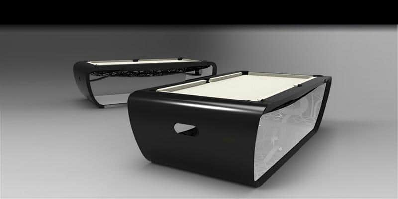 Billards Toulet Blacklight Noir et Blanc