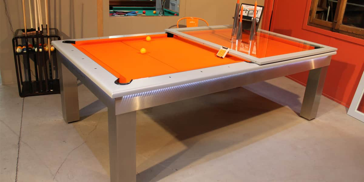 Billards toulet lambert table tables de billard sur easylounge - Table de billard transformable en table de salle a manger ...