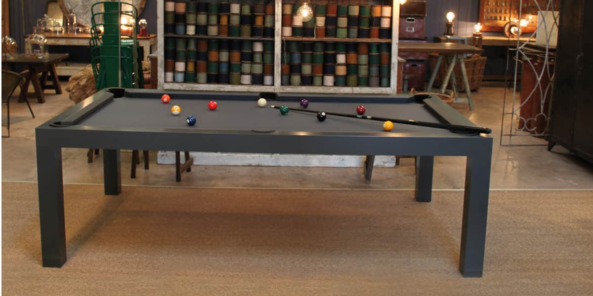 billards toulet pearl gris tables de billard sur easylounge. Black Bedroom Furniture Sets. Home Design Ideas