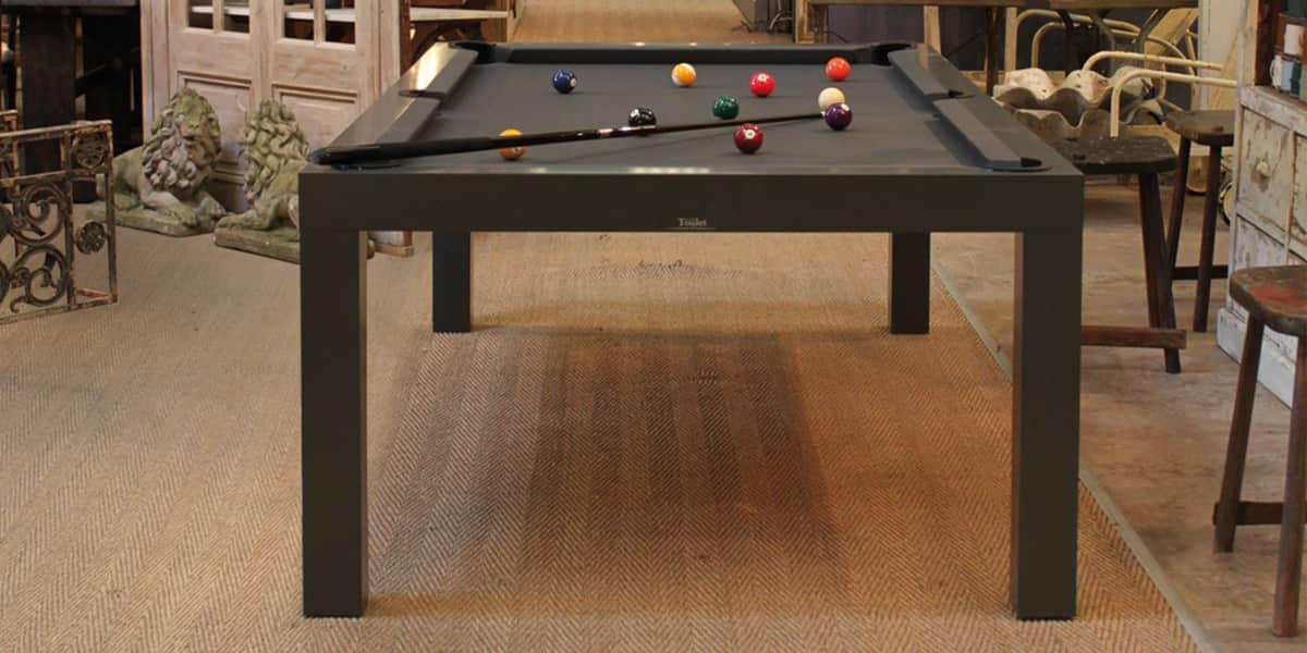 Billards toulet pearl gris tables de billard sur easylounge for Plan table de billard