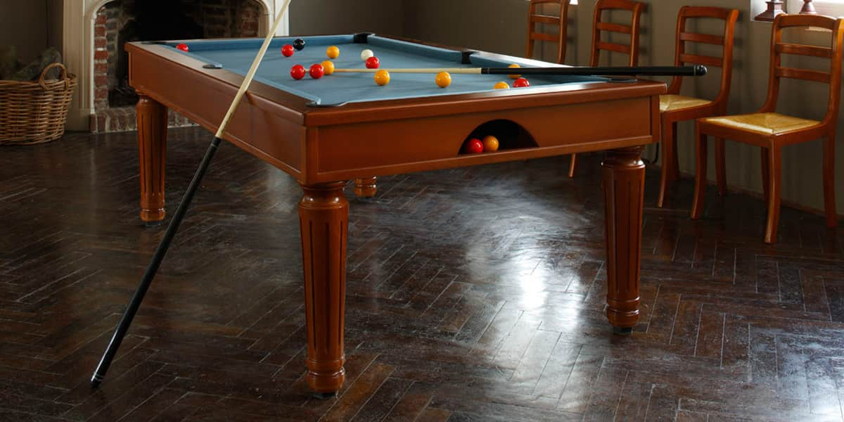 billards toulet sweet home merisier tables de billard sur easylounge. Black Bedroom Furniture Sets. Home Design Ideas