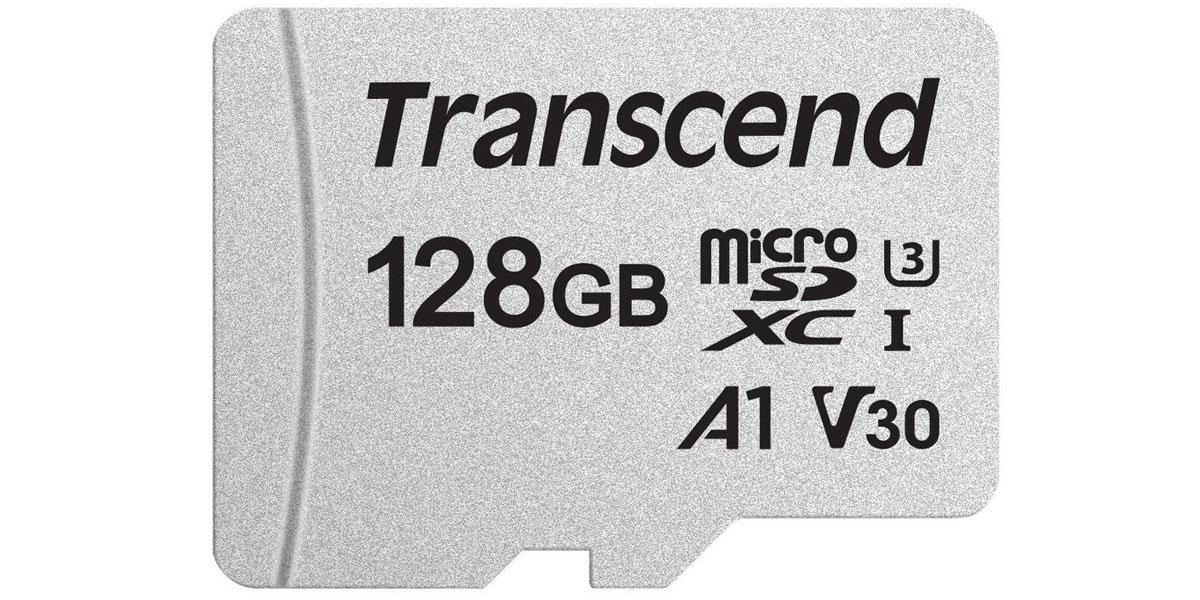 Transcend MicroSD Class 10 128 Go