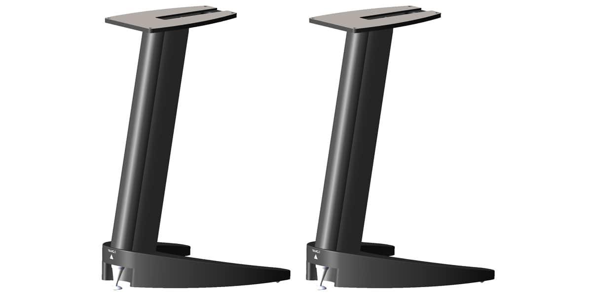 triangle ts 400 noir pieds pour enceintes sur easylounge. Black Bedroom Furniture Sets. Home Design Ideas