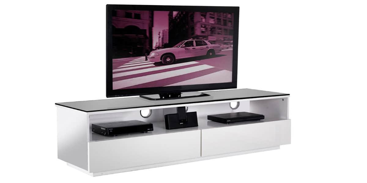 uk cf new york blanc meubles tv divers sur easylounge. Black Bedroom Furniture Sets. Home Design Ideas