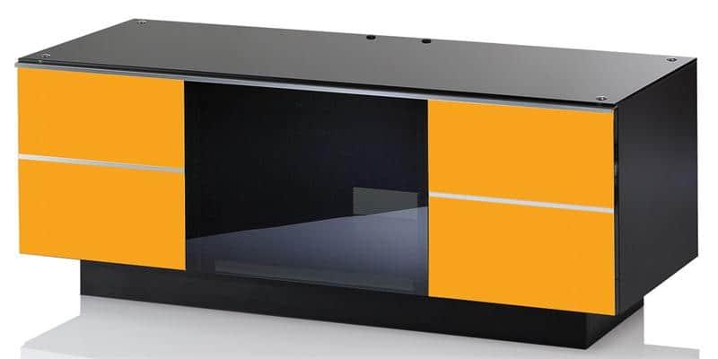 ultimate g g 110 jaune meubles tv ultimate sur easylounge. Black Bedroom Furniture Sets. Home Design Ideas