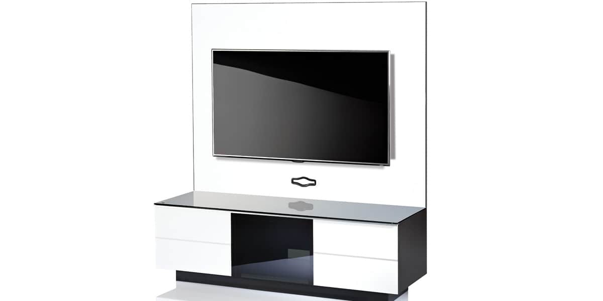 ultimate gplate gg135 blanc meubles tv ultimate sur easylounge. Black Bedroom Furniture Sets. Home Design Ideas