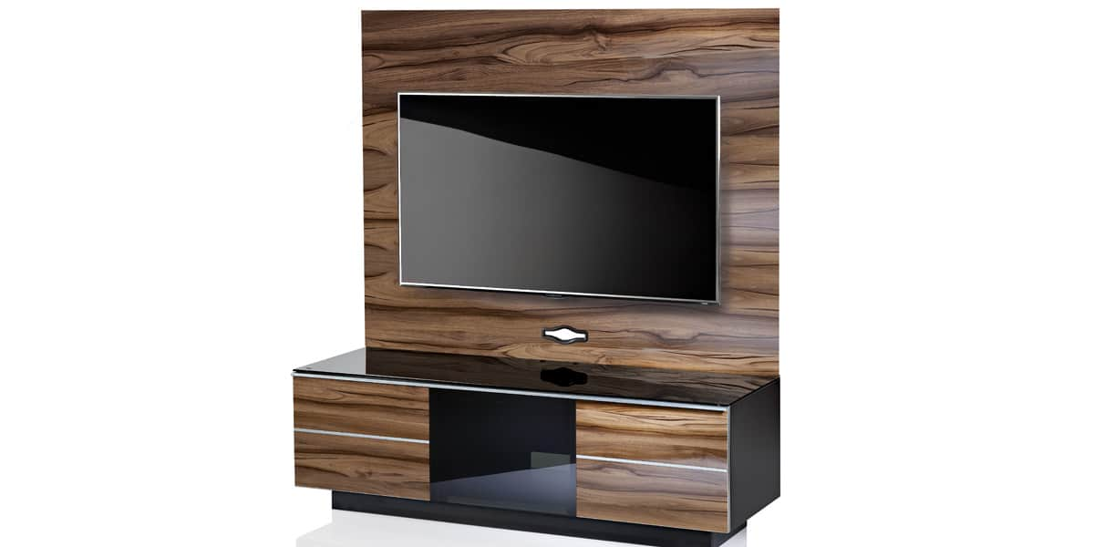 ultimate gplate gg135 bois meubles tv ultimate sur easylounge. Black Bedroom Furniture Sets. Home Design Ideas