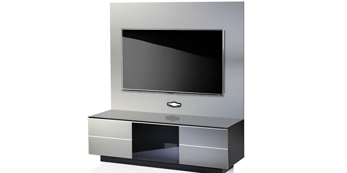 ultimate gplate gg135 gris meubles tv ultimate sur easylounge. Black Bedroom Furniture Sets. Home Design Ideas