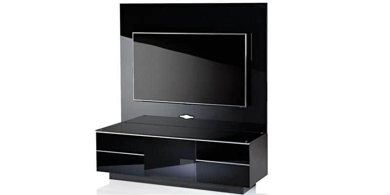 ultimate gplate gg135 noir meubles tv sur easylounge. Black Bedroom Furniture Sets. Home Design Ideas