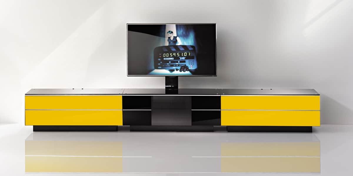 ultimate g s 110 jaune meubles tv ultimate sur easylounge. Black Bedroom Furniture Sets. Home Design Ideas