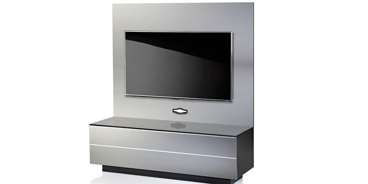 ultimate gplate gs135 gris meubles tv ultimate sur easylounge. Black Bedroom Furniture Sets. Home Design Ideas