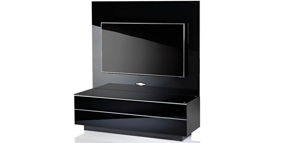 ultimate gplate gs135 noir meubles tv ultimate sur easylounge. Black Bedroom Furniture Sets. Home Design Ideas