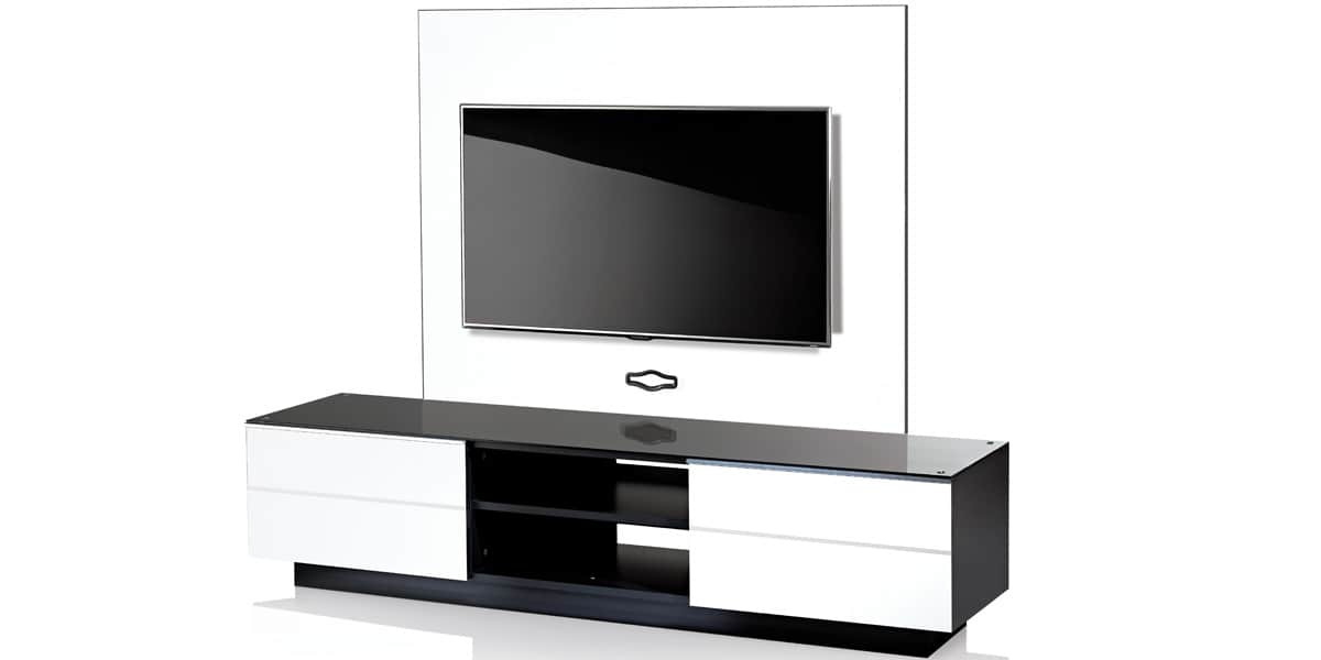 ultimate gplate gs180 blanc meubles tv ultimate sur easylounge. Black Bedroom Furniture Sets. Home Design Ideas