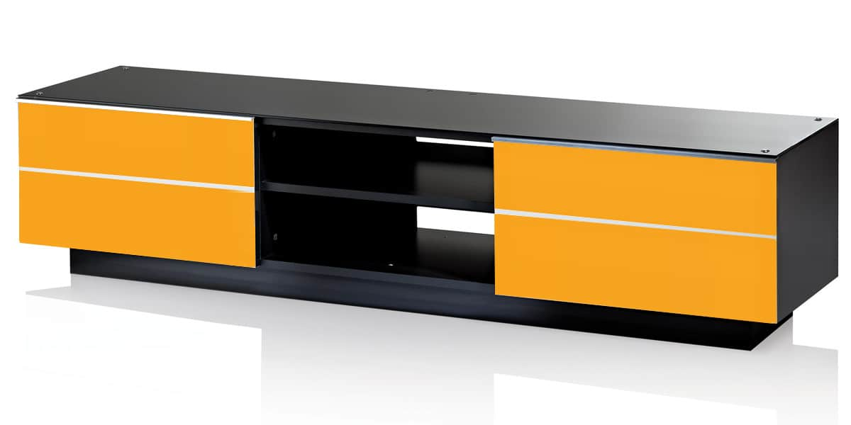 ultimate g s 180 jaune meubles tv ultimate sur easylounge. Black Bedroom Furniture Sets. Home Design Ideas