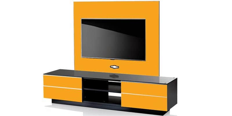 ultimate gplate gs180 jaune meubles tv ultimate sur easylounge. Black Bedroom Furniture Sets. Home Design Ideas