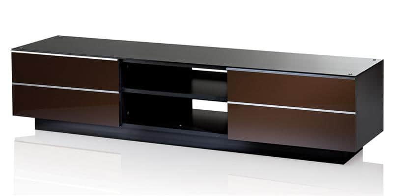 ultimate g s 180 marron meubles tv sur easylounge. Black Bedroom Furniture Sets. Home Design Ideas