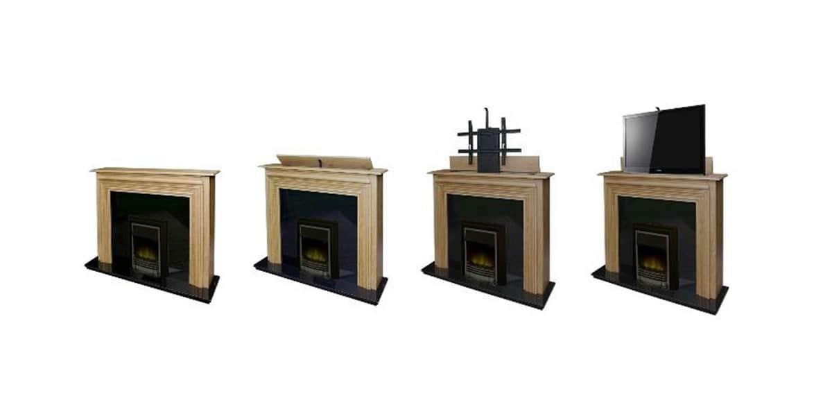 venset ts1000a supports tv motoris s sur easylounge. Black Bedroom Furniture Sets. Home Design Ideas