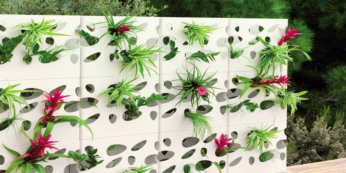 viteo mur floral viteo d coration cin ma sur easylounge. Black Bedroom Furniture Sets. Home Design Ideas