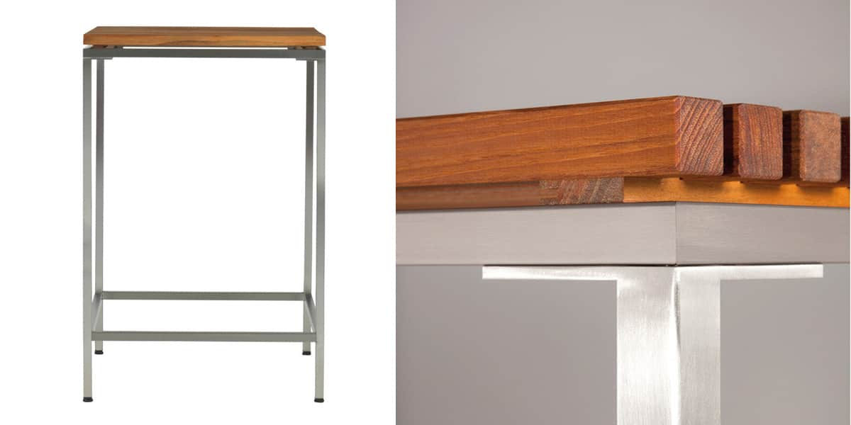 Viteo Table Haute 69x69cm Tables De Jardin Sur Easylounge