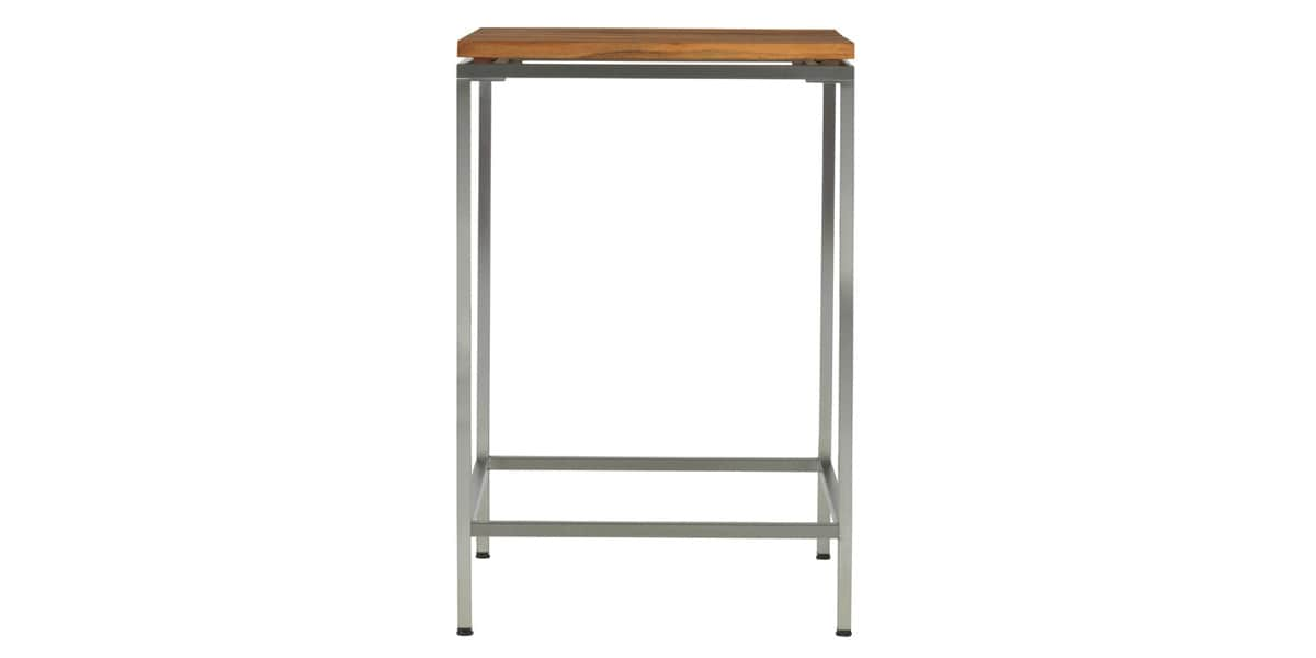 Viteo table haute 69x69cm tables de jardin sur easylounge - Table haute exterieure ...
