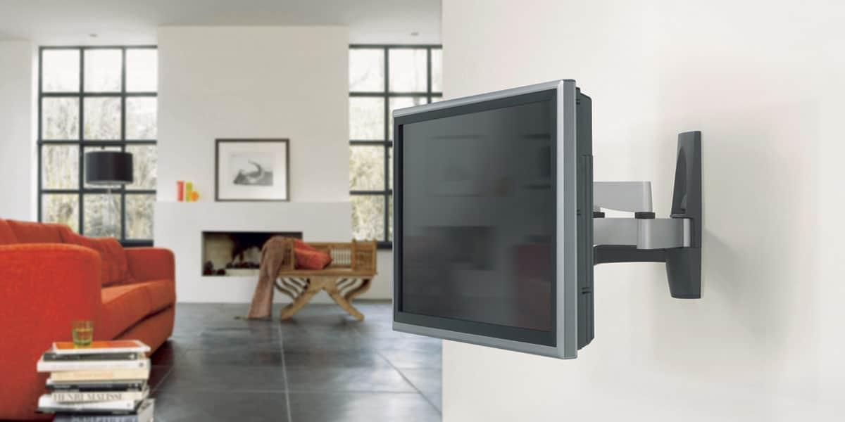 Vogel 39 s efw6345 argent supports tv muraux sur easylounge - Support mural tv vogel ...