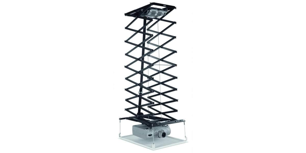 Vogel 39 s ppl 3535 noir supports vid oprojecteurs sur easylounge - Support videoprojecteur faux plafond ...
