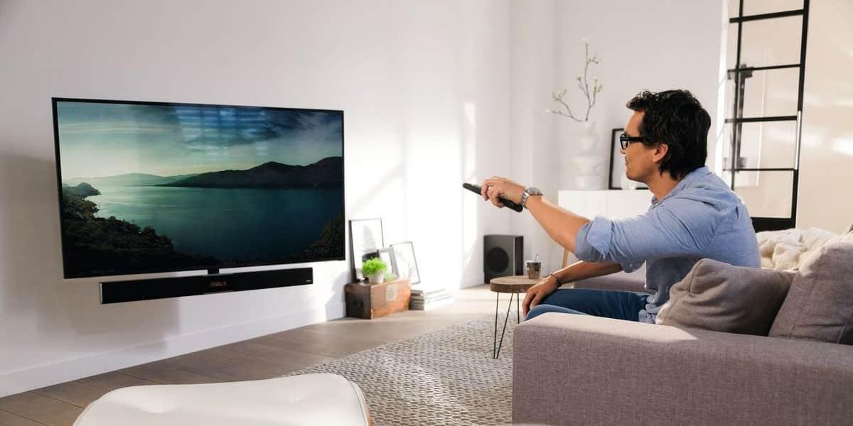 vogel 39 s next 8375 supports tv motoris s sur easylounge. Black Bedroom Furniture Sets. Home Design Ideas