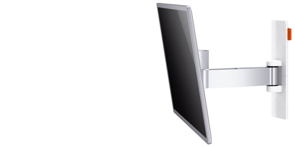 Vogel 39 s wall 2025 blanc supports tv muraux sur easylounge - Support tv mural blanc ...