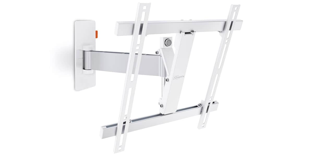 Vogel 39 s wall 2225 blanc supports tv muraux sur easylounge - Support tv mural blanc ...