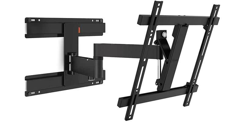 vogel 39 s wall 2246 noir supports tv muraux sur easylounge. Black Bedroom Furniture Sets. Home Design Ideas