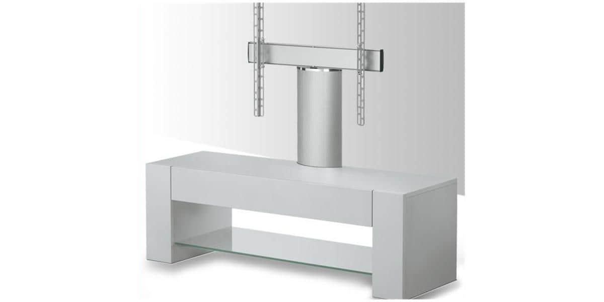 Vogel 39 s q6220 silver meubles tv vogel 39 s sur easylounge for Meuble tv avec support