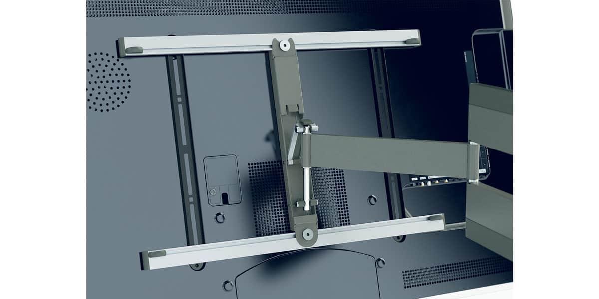 Vogel 39 s thin 345 supports tv muraux sur easylounge - Support mural tv vogel ...