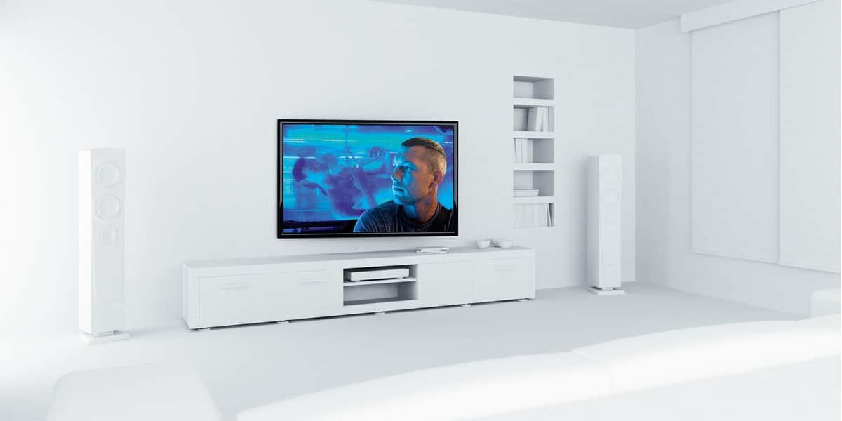 vogel 39 s thin 355 rc noir supports tv motoris s sur easylounge. Black Bedroom Furniture Sets. Home Design Ideas