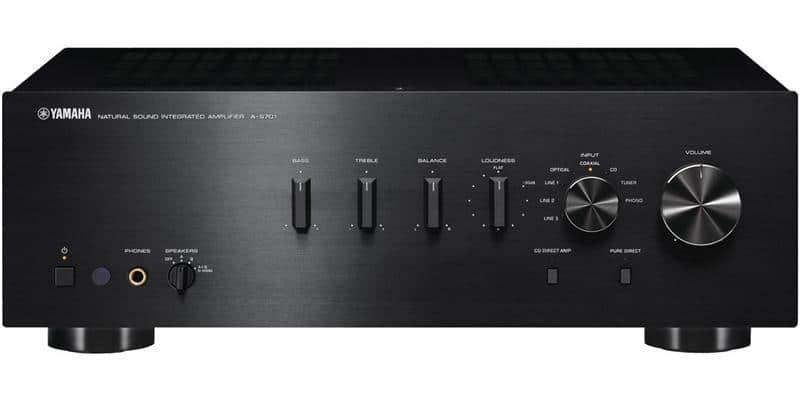 Yamaha A-S701 Noir
