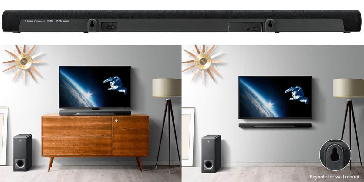 yamaha ats 2070 barres de son sur easylounge. Black Bedroom Furniture Sets. Home Design Ideas