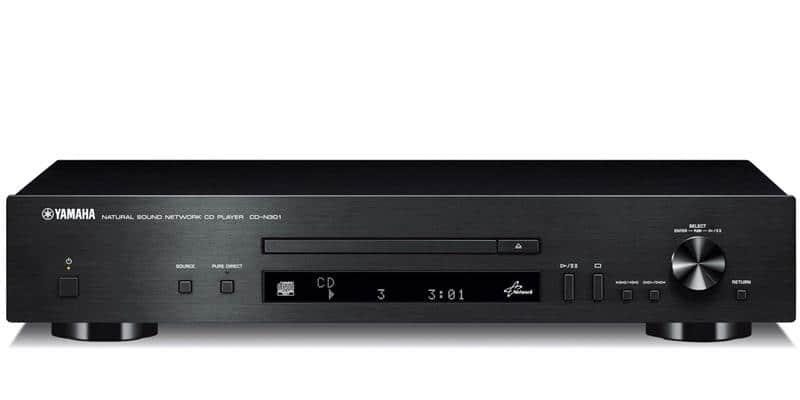 Yamaha CD-N301 Noir