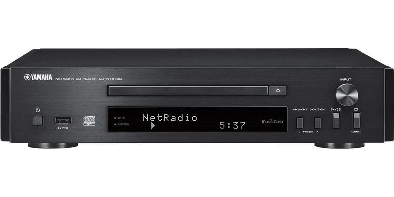 Yamaha CD-NT670D Noir