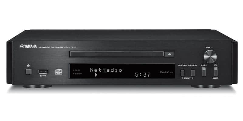 Yamaha CD-NT670 Noir