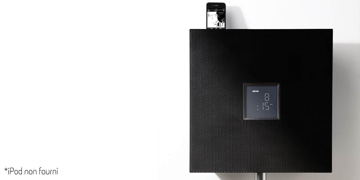 yamaha isx 800 noir mini chaines hifi sur easylounge. Black Bedroom Furniture Sets. Home Design Ideas