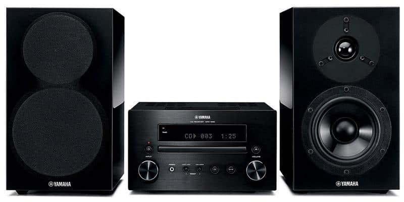 Yamaha - MCR-550 - Mini-chaîne avec Station d'accueil pour iPod - 2 x 32 W - USB - Noir
