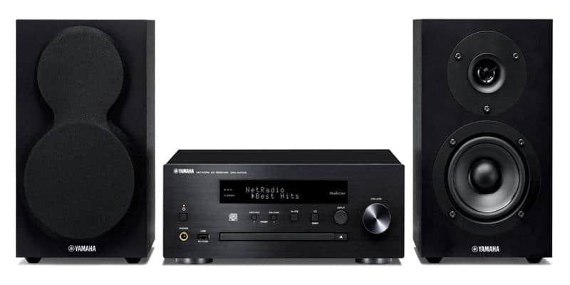 Yamaha MusicCast MCR-N470 Noir
