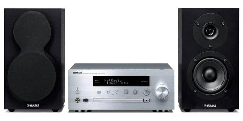 Yamaha MusicCast MCR-N470 Silver