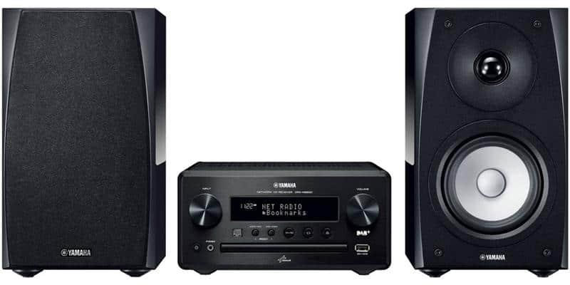 Yamaha MCR-N560 Noir