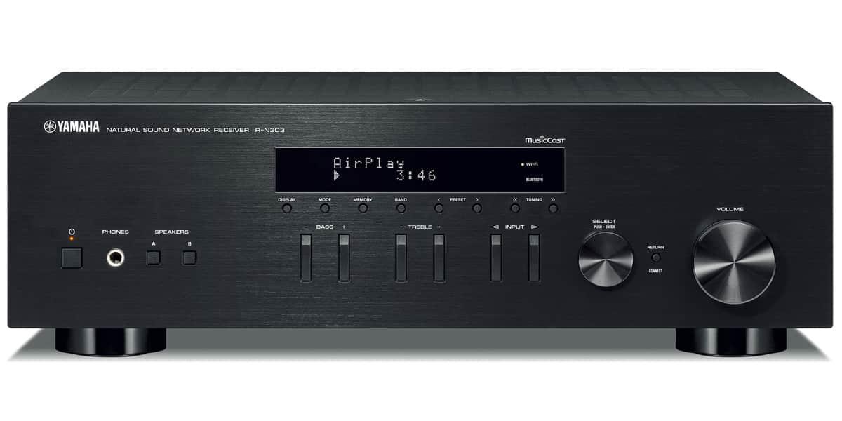 Yamaha R-N303 Noir