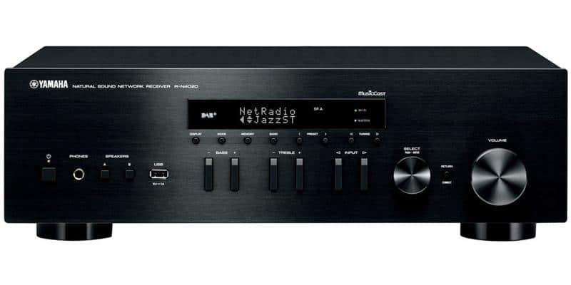 Yamaha R-N402D Noir