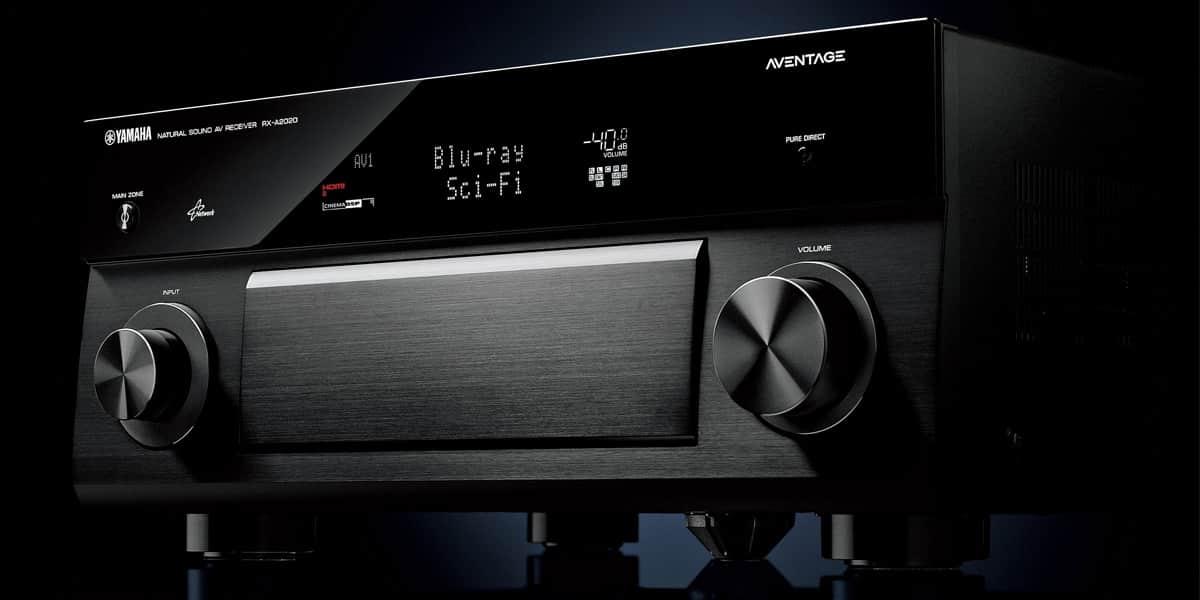 L'amplificateur Home Cinéma Yamaha RX-A2020 en démonstration permanente