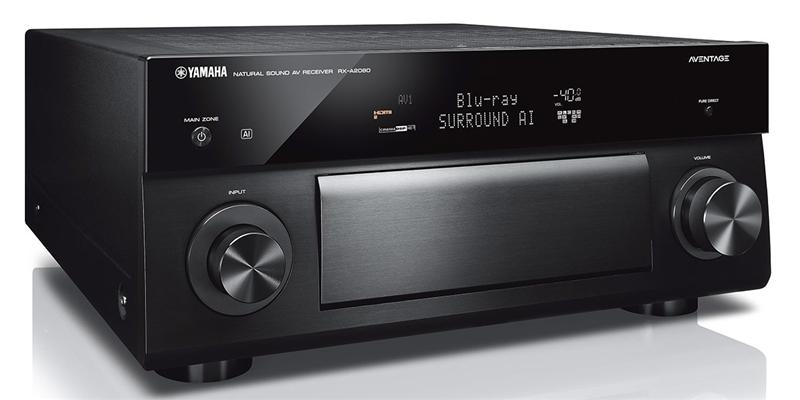 Yamaha MusicCast RX-A2080 Noir