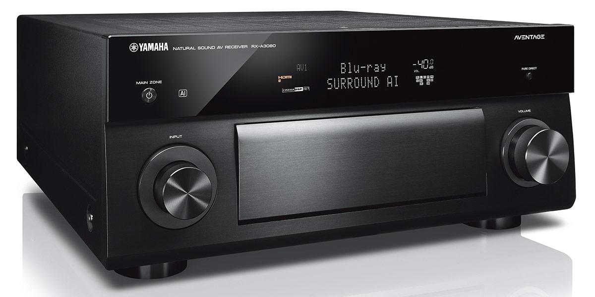 Yamaha MusicCast RX-A3080 Noir