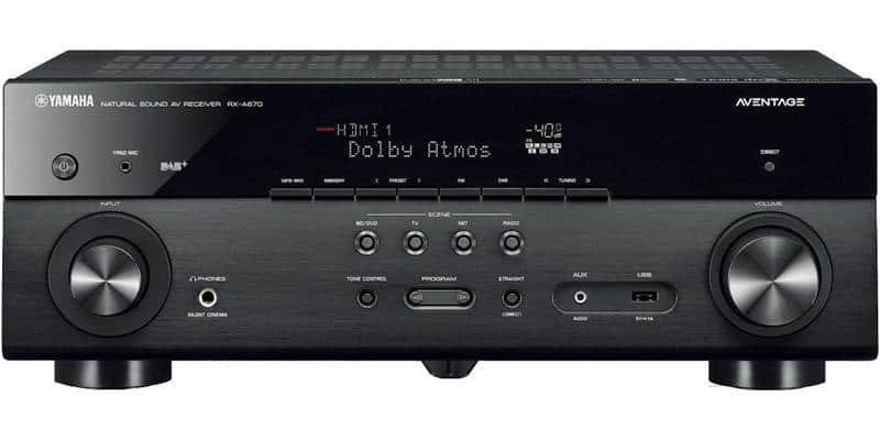 Yamaha MusicCast RX-A670 Noir