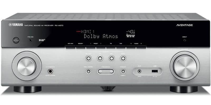Yamaha MusicCast RX-A670 Titane